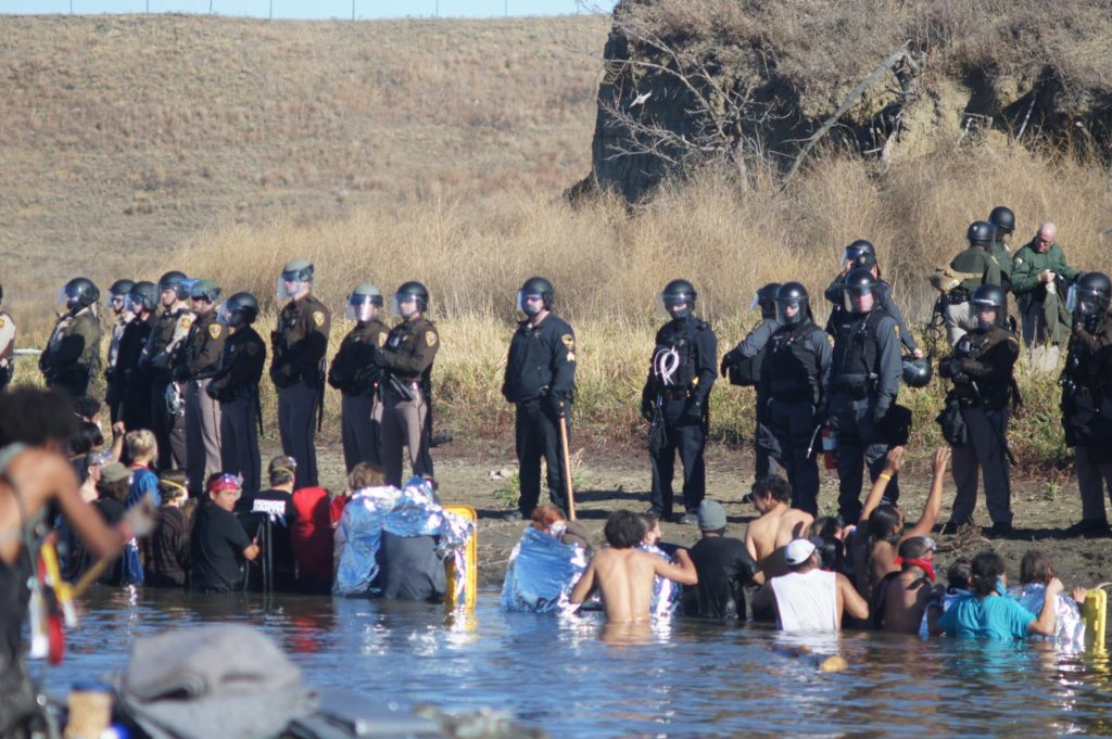 Report from Standing Rock: Wounded Knee Kitchen, Oceti Sakowin Camp